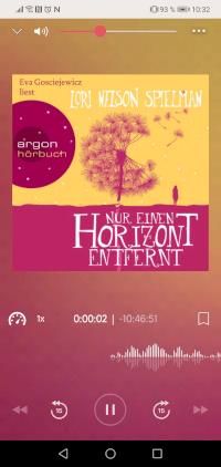 Nextory App - aktuelles Hörbuch