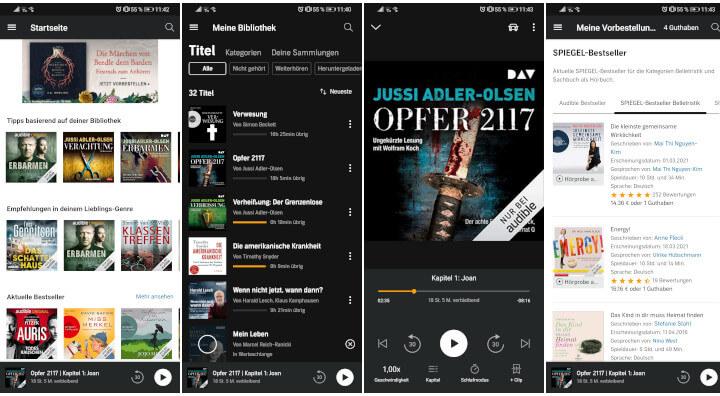 Audible Hörbuch App