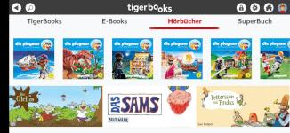 tigerbooks - kostenlose Hörbuch App